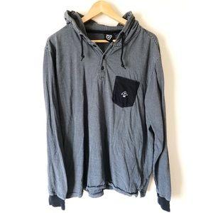 LRG XL long sleeve light weight hoodie